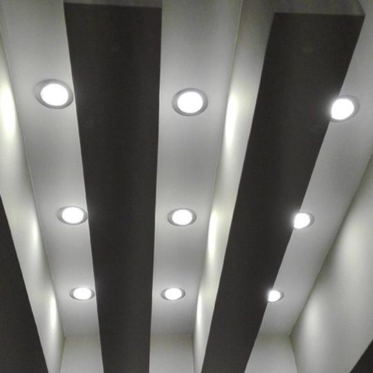 Ειδική κατασκευή από γυψοσανίδα με κρυφό φωτισμό